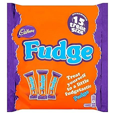 Cadbury Treatsize Fudge Bars 202g