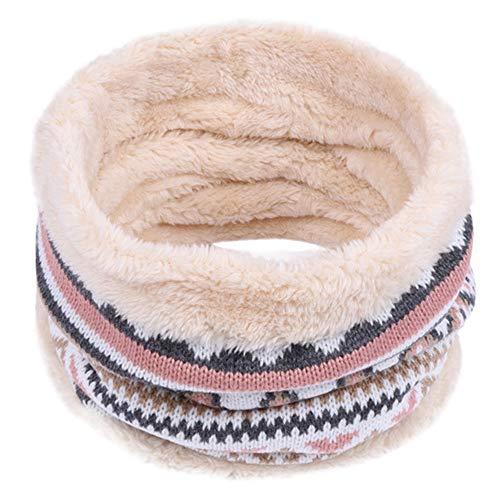 Hals Ohrenklappen (xinxinyu Weihnachten Schal, Kinder Winter Warmer Schal Jungen Mädchen Kinder Baby Gestrickte Kragen Halstücher Baby Niedlichen Schal O Ring Halstücher Loop Hals)