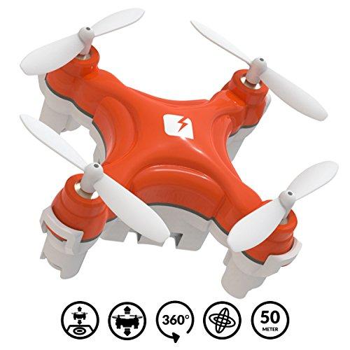 SKEYE Nano 2 Drone Con Luces Led – Piruetas Acrobáticas - Despegue...