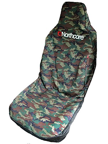 Northcore Water Resistant Car Seat Cover CAMO NOCO05B