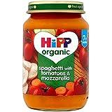 HiPP Spaghetti à la tomate bio & Mozzarella 190g