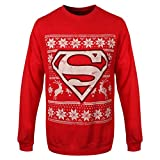 DC Comics Superman Weihnachts Pullover
