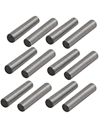 Tradico® Carbon Steel GB117 20mm Length 4mm Small End Diameter Taper Pin 12pcs