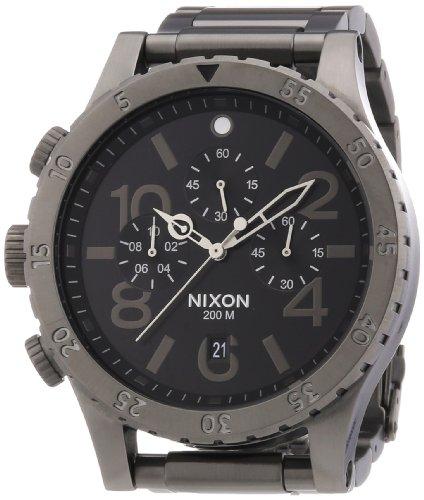 nixon-a486632-00-montre-mixte-quartz-chronographe-chronometre-bracelet-acier-inoxydable-gris