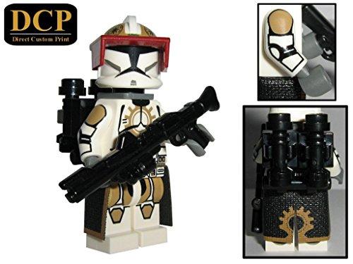 87th Star Corps Jet Clone Trooper custom design Star Wars Figur gefertigt aus Lego & custom (Lego Customs Wars Star)