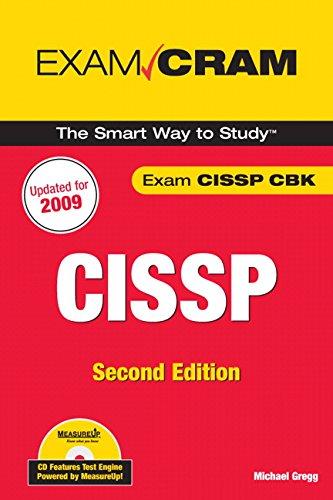 CISSP Exam Cram por Michael Gregg