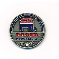 hegibaer Republikanische Partei Republican Elefant USA Nostalgie Edel Pin Anstecker 0911