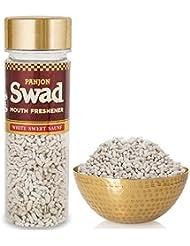 Panjon Swad Mouth Freshener, White Sweet Saunf, 110g
