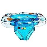 plceo Kleinkind Kinder Schwimmender Schwimmen Ring Aufblasbarer Baby Schwimmring Hals (col2)