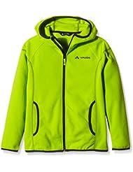 VAUDE yalca Paul chaqueta de forro polar, otoño/invierno, infantil, color Verde - verde, tamaño 4 años (104 cm)
