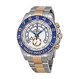 Rolex Yacht-Master Uhr Stahl Herren Rose 18kt Gold und II