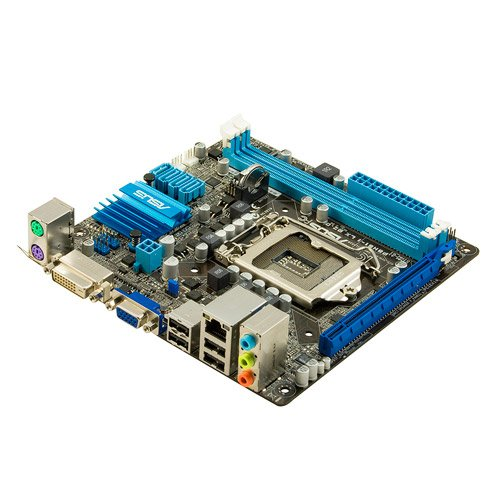 Mainboard Sockel 1155 (Mini ITX, Intel H61(B3), 2X DDR3 Speicher, 4X SATA II, 8X USB 2.0) ()