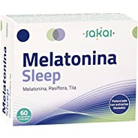 Sakai Melatonina Sleep Complemento Alimenticio - 60 Tabletas