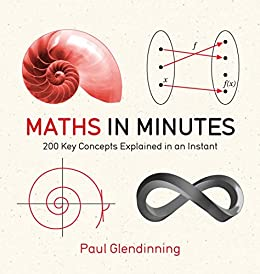 Maths in Minutes: 200 Key Concepts Explained In An Instant by [Glendinning, Paul]