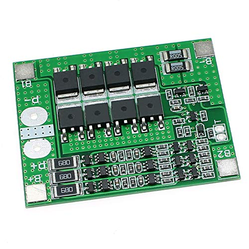 Zkee Shop 3S 12V 25A Balance Lithium Battery 18650 Charger Protection Board Balance Module