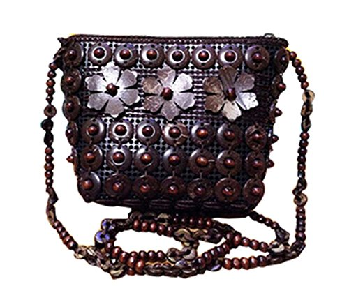 Brown Unique Bohemia Mesdames Mini Crossover Sacs à bandoulière Sacs à main