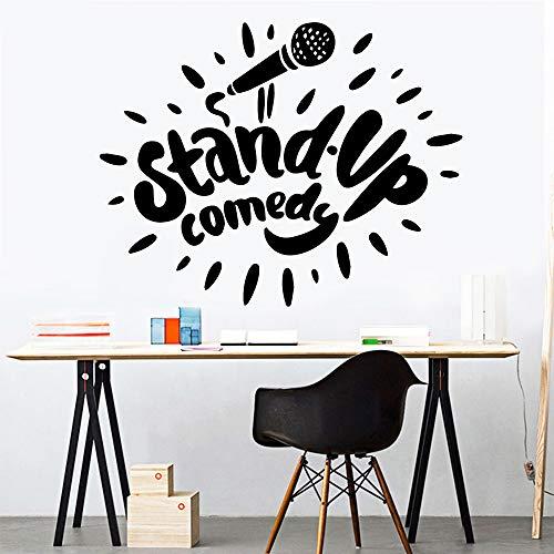 Nette Stand Up Wandaufkleber Personalisierte Kreative Wanddekorationen Wohnzimmer Dekoration Aufkleber Wandaufkleber Vom Hausgarten Weiß M 30 cm X 38 cm