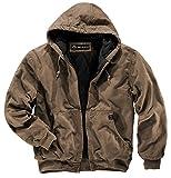 Dri Duck 5020 Cheyenne - Giacca da Lavoro con Cappuccio da Uomo, Uomo, 5020, Cachi da Campo, L