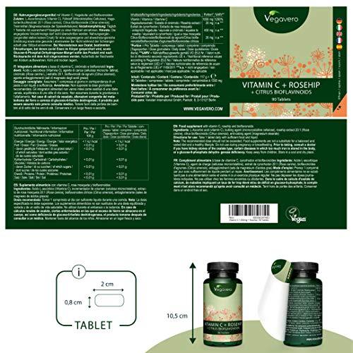 Zoom IMG-1 vitamina c 1000 mg vegavero