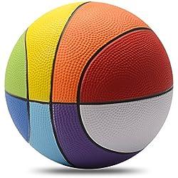 Vigoureux Chastep Foam Basketball en Mousse Rainbow Parfait (8 Pouce)