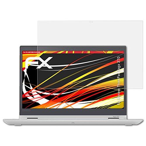 atFolix Schutzfolie kompatibel mit Lenovo ThinkPad Yoga 370 Displayschutzfolie, HD-Entspiegelung FX Folie (2X)