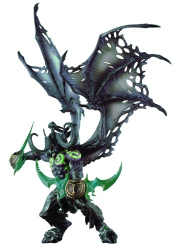 WoW Deluxe Illidan Shadow Demon Form (Serie V) 12