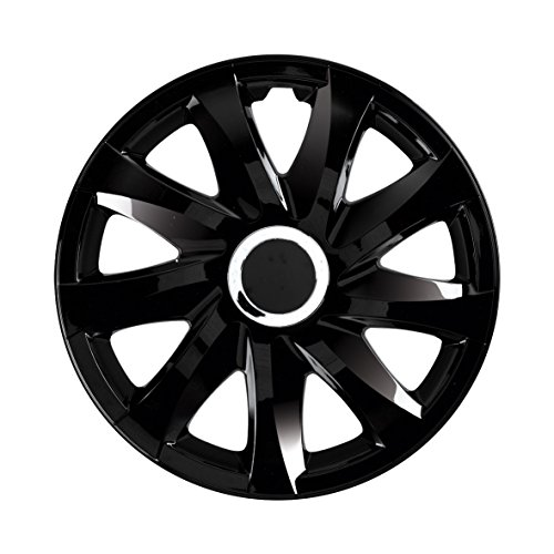NRM Universal Wheel Trims DRIFT Black 14