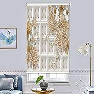 ستائر النوافذ بطباعة ثلاثية الابعاد، ستائر رول للتعتيم - ستائر واغطية ابواب لتعتيم الغرفة، ستائر للتحكم في درج