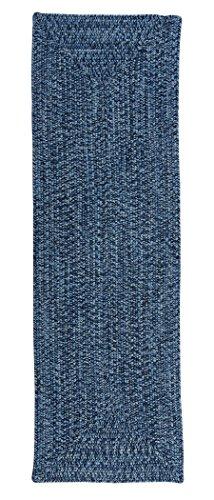 Catalina Polypropylen Geflochtenen Teppich, Empfangsbereich von 4-feet, Blue Wave -