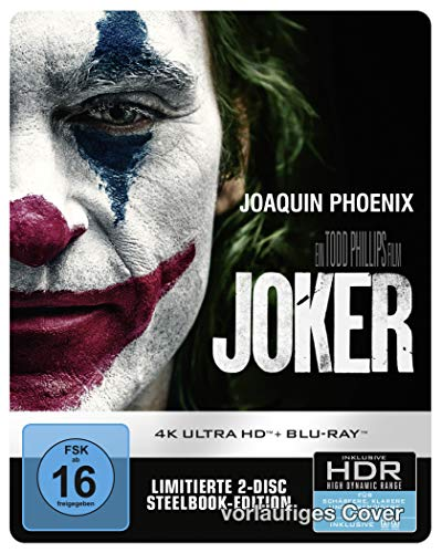 Joker 4K UHD + 2D Steelbook [Limited Edition] [Blu-ray]
