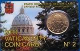 VATIKAN / VATICAN /VATICANO CITY COIN CARD 2011 N° 2