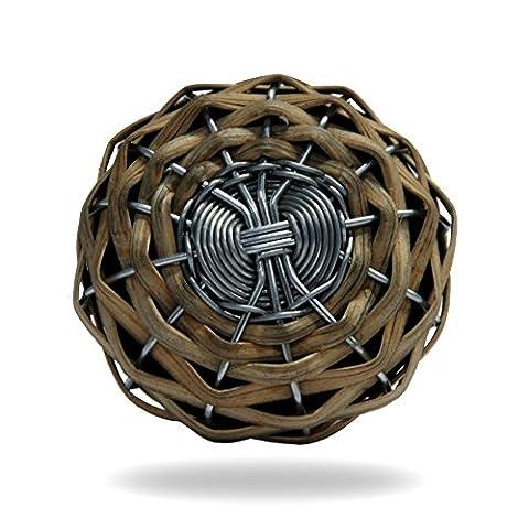 Panier fil Tissage Beige Poignée de meubles de cuisine Porte Placard Dressser Armoire et tiroir par Trinca-ferro