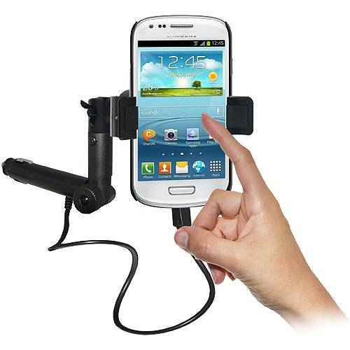 Amzer 95226 Lighter Socket Phone Mount with Charging and Case System for Samsung GALAXY S III mini GT-I8190  available at amazon for Rs.2464