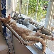 MRIMAYA Cat Bed, Cat Window Perch Window Seat Suction Cups Space Saving Cat Hammock Pet Resting Seat Safety Ca