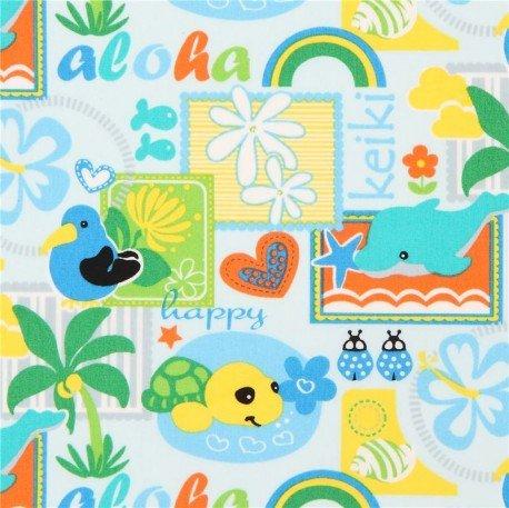 Hawaii - diese und andere Stoffe online!