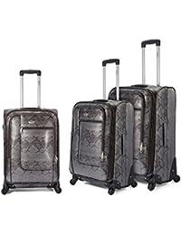 Conjunto de maletas blandas-4 ruedas 360º, maletas de viaje, ligera fabricada en PVC. Otros colores