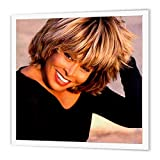 3dRose Tina Turner-Quilt carré, Multicolore, X 15,2cm