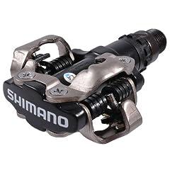 Idea Regalo - Shimano EPDM520L Pedale MTB SPD, 2 pezzi, colore: Nero