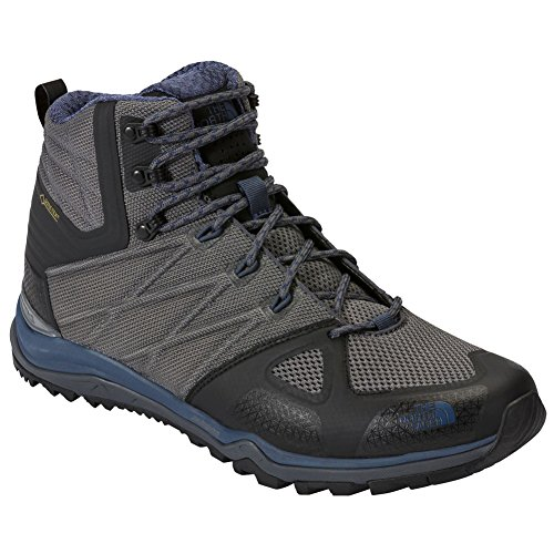 The North Face M Ultra Fastpack Ii Mid Gtx, Chaussures de Randonnée Homme Zinc Grey Shady Blue