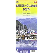 British Columbia South Map 1 : 900 000: Calgary to Vancouver
