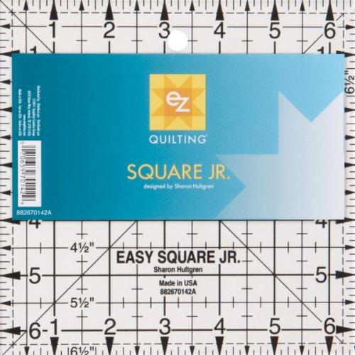 EZ Quilting Square Junior Acrylic Template Test