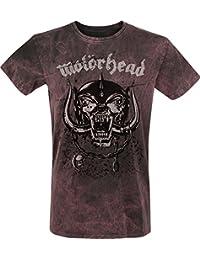 Motörhead Everything Louder T-Shirt Grey-Red 4XL