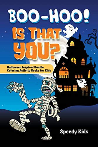 ? Halloween Inspired Bundle Coloring Activity Books for Kids ()