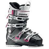 Rossignol–Skischuhe Kiara Rental–Anthrazit–Damen–Größe 42,5–Schwarz, schwarz