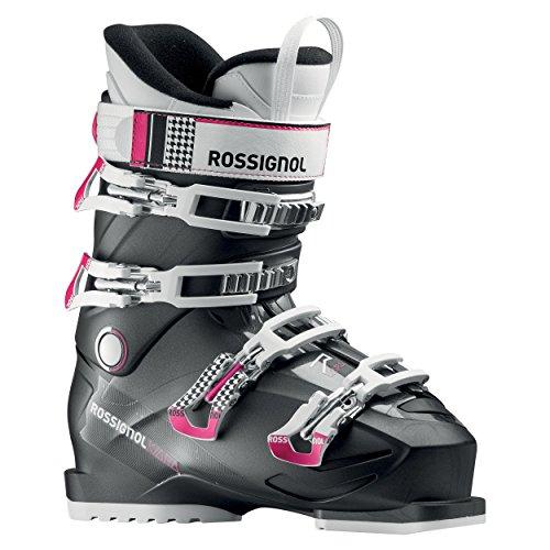 Rossignol-Skischuhe Kiara Rental-Anthrazit-Damen-Größe 42,5-Schwarz, schwarz