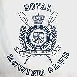 Tagesdecke aus Baumwolle / Kuscheldecke Royal Rowing Club 150 x 200cm