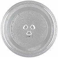 Plato giratorio de cristal esmerilado universal de 245 mm para hornos de microondas Cookworks 24.5*1.5CM 3 Fixers