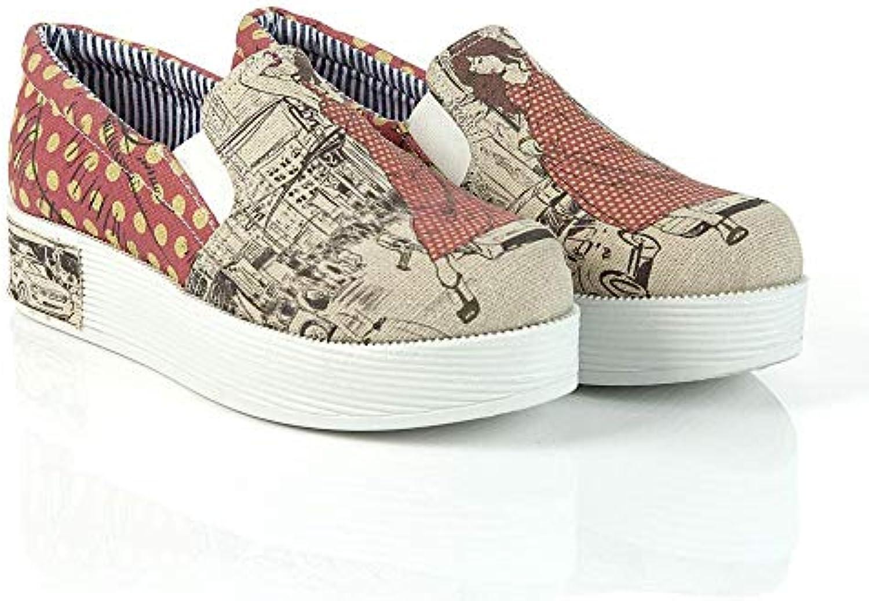 Stylish Woman Slip on scarpe da ginnastica scarpe VN4302 | | | Alta qualità ed economico  | Maschio/Ragazze Scarpa  122f10
