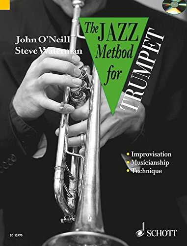 Jazz Method for Trumpet (Tutor Book & CD)