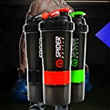 #9: CP Bigbasket Sport Gym Protein Powder Drink Shaker Plastic Mixer Cup Bottle (1PC, 500ML)